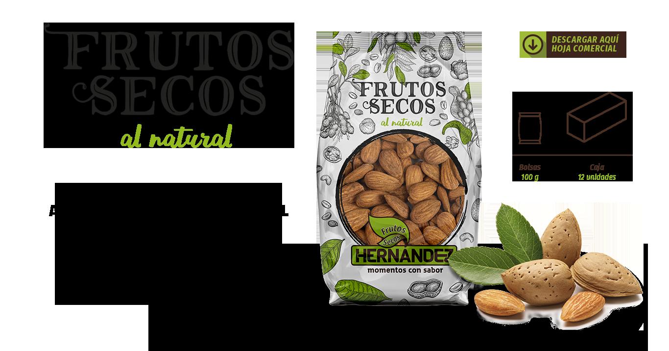 Frutos secos naturales imagen de la bolsa